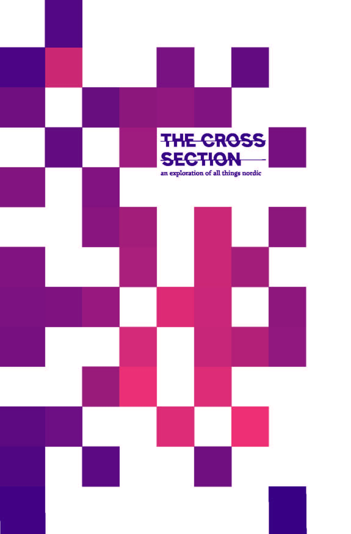 Front cover of Issue 2 of The Cross Section